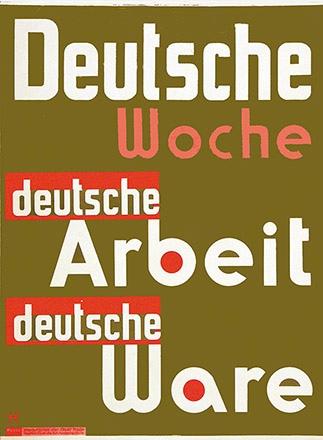 Hahs Erwin - Deutsche Woche