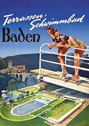 Anonym - Terrassen-Schwimmbad