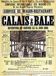 Anonym - Service de Wagon-Restaurant