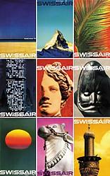 Bingler Manfred - Swissair (9 Plakate)