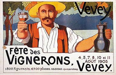 Burnat-Provins Marguerite - Fête des Vignerons Vevey