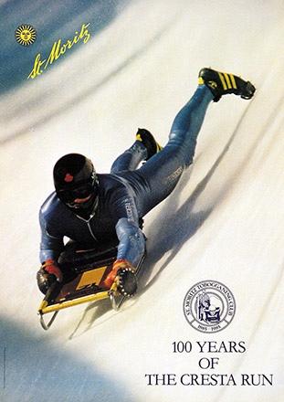 Ebenhöfer Helmut (Photo) - 100 Years of Cresta Run St. Moritz