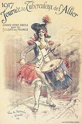 Willette Adolphe Léon - Journée des Tuberculeux
