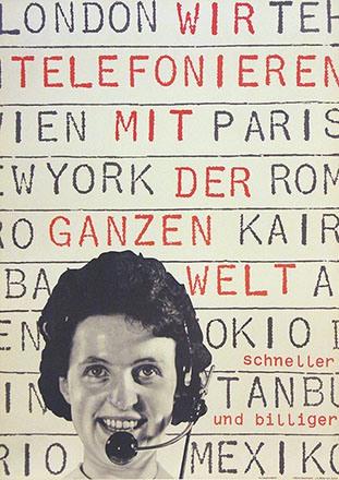 Müller-Brockmann Josef - Telefonieren