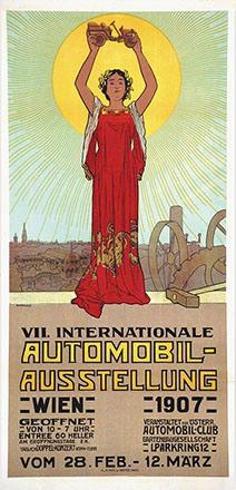 Karpellus Adolf - Automobil-Ausstellung