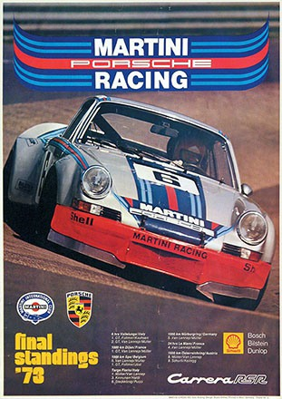 Anthes Studio - Martini Porsche Racing