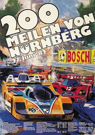 Gotschke Walter - 200 Meilen von Nürnberg