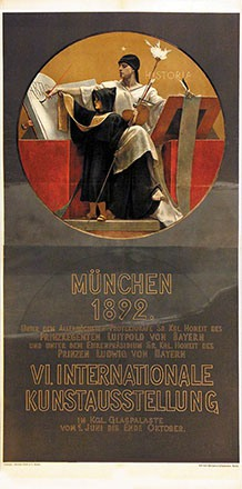 Gysis Nikolaus - Kunstausstellung München