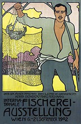 Auchentaller Josef Maria - Fischerei-Ausstellung Wien