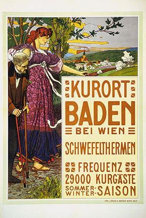 Monogramm M.L. - Baden bei Wien