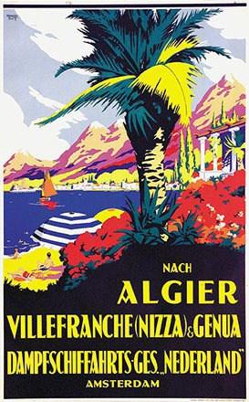 Rutt Bernard - Nach Algier Villeranche Genua