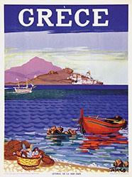 Anonym - Grèce - Littoral de la mer