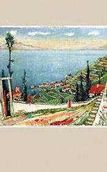 Carigiet Alois - ohne Titel (Suisse - Le Léman)