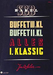 Cambin - SBB - Buffet Basel