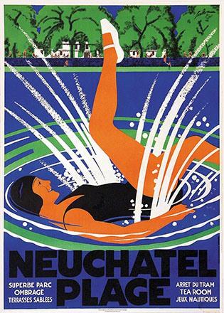 de Coulon Eric - Neuchâtel Plage