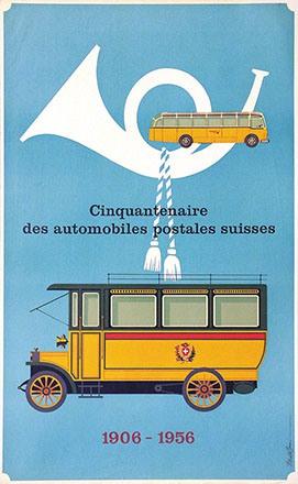 Brun Donald - Automobiles postales