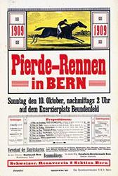 Anonym - Pferde-Rennen in Bern