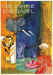 Brun Donald - 100 Jahre Zoo Basel