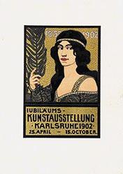 Graf Oscar (Oskar) - Jubiläums-Kunstausstellung Karlsruhe