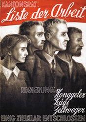Baumberger Otto - Liste der Arbeit