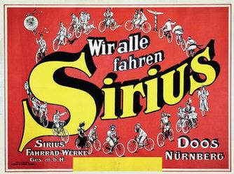 Anonym - Sirius Fahrrad-Werke