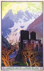 Anonym - La vallée d'Aoste et le Mont Blanc