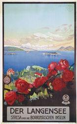 Borgoni Mario - Der Langensee - Stresa - Borromäische Inseln