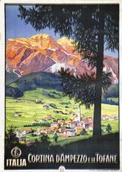 Anonym - Cortina d'Ampezzo et le Tofane