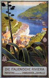 Borgoni Mario - Die italienische Riviera - Portofino