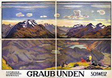 Cardinaux Emil - Graubünden (4-teilig)