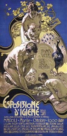Hohenstein Adolfo - Esposizione dIgiene