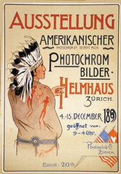 Monogramm WB - Ausstellung Amerikanischer