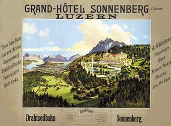 Anonym - Grand-Hôtel Sonnenberg Luzern