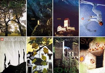 Diverse Gestalter - Schweiz (8 Motive)