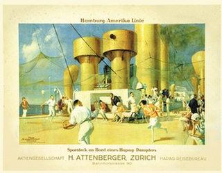 Schwormstädt Felix - Hamburg-Amerika Linie