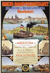 Weber Johannes + Balzer Peter - Rhein-Dampfschiffahrt