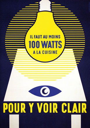 Anonym - 100 Watts - pour y voir clair