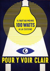 Anonym - 100 Watts - pour y voir clair