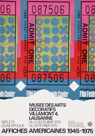 Omnific / Warhol Andy - Affiches Americaines