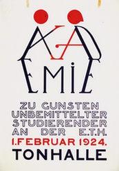 Anonym - Akademie - Tonhalle Zürich