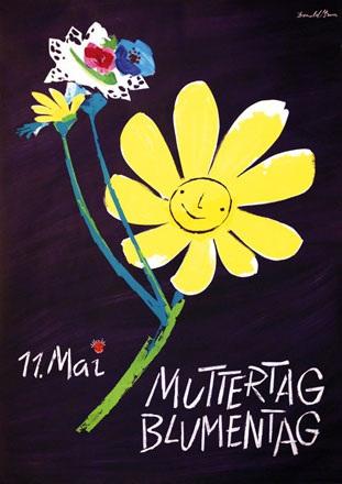 Brun Donald - Muttertag - Blumentag