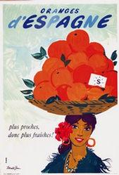 Brun Donald - Oranges d'Espagne