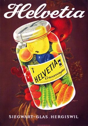 Keck Leo - Helvetia Conservenglas