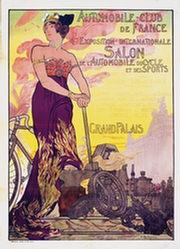 Rochegrosse Georges Antoine - Salon de l'Automobile