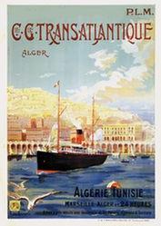 Le Quesne  Fernand - C.C. Transatlantique - Alger</br>Algérie Tunesie