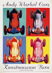 Milnor Daniel - Andy Warhol Cars