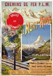 d'Alesi Hugo - Le Mont Rose</br>Vallée de Zermatt