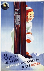 Hugon Roland - 8 Jours de neige blanche