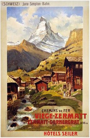 Reckziegel Anton - Chemins de Fer Viège-Zermatt