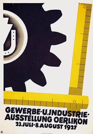 Anonym - Gewerbe- u. Industrie-Ausstellung Oerlikon